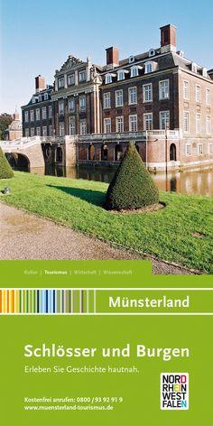 """Der Katalog """"Schlösser und Burgen"""" ist ein perfekter Begleiter für eine Reise im Münsterland - klein und kompakt alle Infos zu den Schlössern und Burgen im Münsterland."""