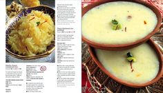 Asian rice pudding and sweetened rice