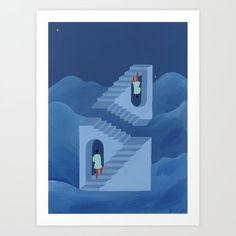 Different ways to climb & unusual paths art print Artwork Prints, Fine Art Prints, Marie Claire France, From The Ground Up, Affordable Art, Holiday Gift Guide, Buy Frames, Printing Process, Paths