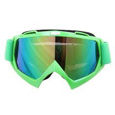 Able Herobiker Winter Ski Snowboard Snowmobile Training Mask Dirt Bike Off-road Glasses Eyewear Black Frame Color T815-7 Skiing & Snowboarding Skiing Eyewear