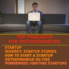 Top podcasts for entrepreneurs http://tracklix.com/aefs