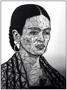 YOLARTE Frida by YOLARTE on deviantART Yoly Ortiz Castañeda https://www.facebook.com/pages/YOLARTE/121709524525082?ref=hl