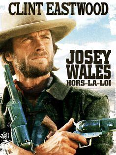 """++ """"Josey Wales hors-la-loi"""" (1976) -- """"The Outlaw Josey Wales"""" . De et avec Clint Eastwood. Pendant qu'il réalisait et jouait ce superbe film, Eastwood jouait aussi dans l'Inpecteur Harry : le grand écart ! Clic 2X"""