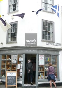 Rick Stein's Patisserie, Padstow Been here too, and did some quality shopping!