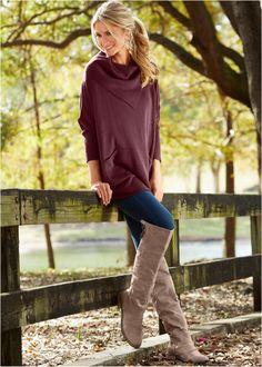 Suéter vinho encomendar agora na loja on-line bonprix.de  R$ 149,90 a partir de Suéter com modelagem soltinha. Super confortável. Seguir as instruções de ...