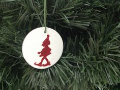 Christmas tree ornament Set of 3 Christmas by VeganArtByTafida