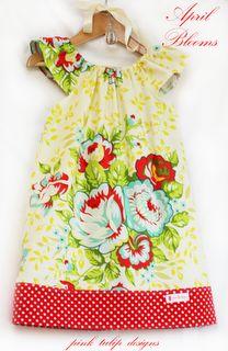 'April Blooms' dress