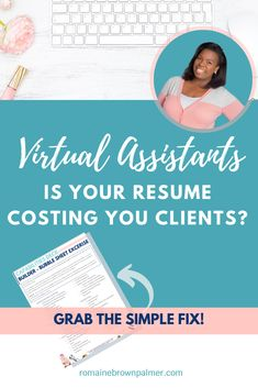 In this powerful post, I want to share with you 3 key ways how, if you are still sending out your resume as a virtual assistant, it could be costing you clients + how I learned this first hand! What You Can Do, How To Find Out, Fanfiction Writer, Online Templates, My Resume, Money Talks, Screenwriting, Virtual Assistant, Business Names
