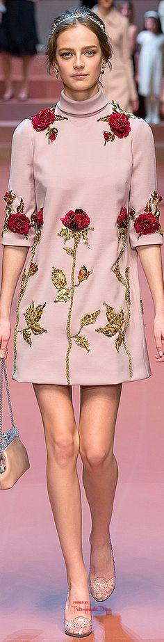 #MFW Dolce & Gabbana Fall 2015 RTW ♔THD♔