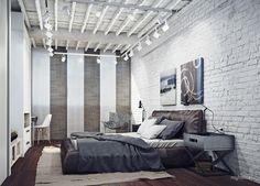 спальня с стиле лофт: 10 тыс изображений найдено в Яндекс.Картинках