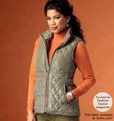 Misses' Vest BUTTERICK 5957