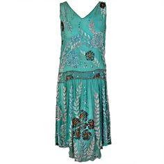 Beaded dress, 1920s.