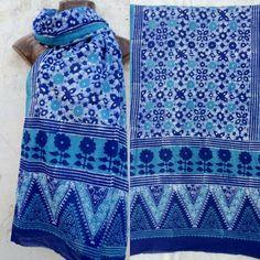 #batik #blockprint #contemporary #indigo #geometrical #cotton #summer #baat #anwarkhatri #signature #kutch