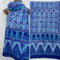 #batik #blockprint #contemporary #indigo #geometrical #cotton #summer #baat #anwarkhatri #signature #kutch
