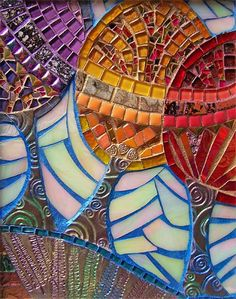 mixed media mosaics - Google Search