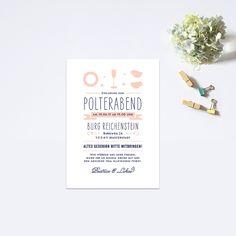 ...  Polterabend,Hochzeitspapeterie ja Hochzeitseinladungen Mit Foto