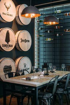 "Wine bar ""Винный шкаф"" on Behance"