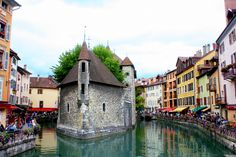 Beautiful Villages in France Annecy