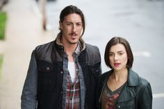 Eric Balfour and Emma Lahana in Haven (2010)