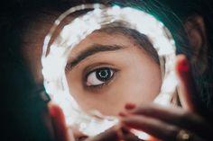 Free Image on Pixabay - Lights, Girl, Portrait, Bokeh