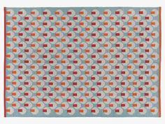 OCTO MULTI-COLOURED Cotton Small multi-coloured cotton rug 120 x 180cm - HabitatUK