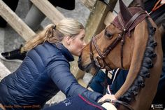 The bond between a horse and their groom...