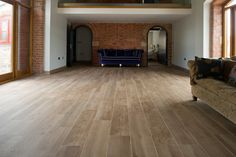 Minoli Tiles - Project 2 - Etic - Great natural effect with this wood look tile in rough finish. It is Etic Noce Strutturato by #Minoli - Floor Tiles Etic Noce Strutturato 90 x 22.5 cm - http://www.minoli.co.uk/tiles/wood-effect-porcelain-tiles/ - http://www.thesurfacewithin.co.uk/range/etic/noce/
