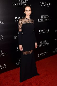 Pin for Later: The 24 Best Dressed Golden Globe Nominees Best Actress in a Drama: Felicity Jones