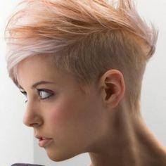 Fryzura damska krótkie włosy