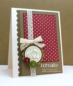 I Create, I Think, I Ink, I Stamp - Jen Mitchell: Christmas