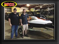 Thank you Grant Shirley and Dalton Tucker from Quitman MS for getting a 2017 Sea-Doo GTS 130 and a Magic Tilt trailer #seadoo
