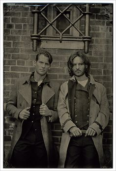 #Victorian men: not too shabby, huh? Photo via Annie at Light and Frolicsome    Hello.