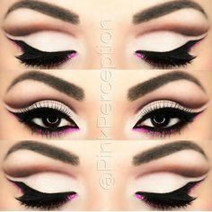 Unique API key is not valid for this user. to cut crease cut crease crease eyeshadow crease tutorial Best Eyeliner, No Eyeliner Makeup, Eye Makeup Tips, Love Makeup, Beauty Makeup, Sweet Makeup, Perfect Eyeliner, Black Eyeliner, Makeup Eyes