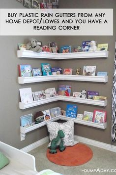 This is just what I need! A reading corner! put it in my living room so the kids cant mess with my books!