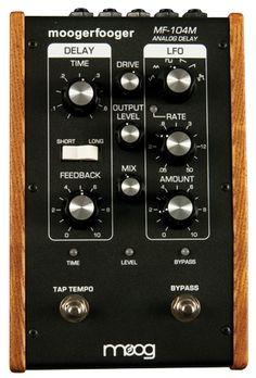 Moog MF-104M Analog Delay Pedal Review - Premier Guitar
