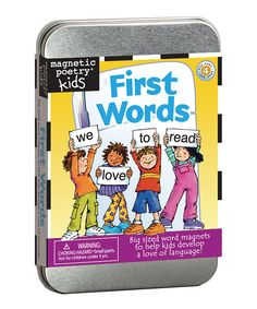 Another great find on #zulily! First Words Magnet Learning Kit by Magnetic Poetry #zulilyfinds