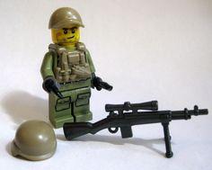 Lego Custom AMERICAN SNIPER Minifigure Brickforge Brickarms M21 Army Military #LEGO