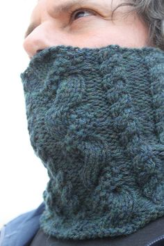 Green Water Cowl by owl_mania, via Flickr