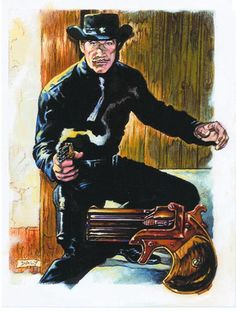 Richard Boone as Paladin   pauldaly's Space