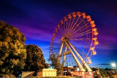 Big Wheel at Cardiff Bay, Cardiff, Wales by Joe Daniel Price on 500px