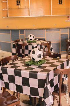 Soccer Themed Birthday Party with So Many Awesome Ideas via Kara's Party Ideas KarasPartyIdeas.com #soccerparty #sports #soccercake #sportsp...