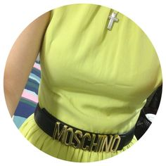 Photo by aeling_ #moschino #mymoschino #belt