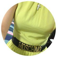 Photo by aeling_ #moschino #mymoschino #belt