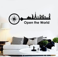Home Decorating Sewing Projects Info: 1826790079 Simple Wall Paintings, Creative Wall Painting, Creative Wall Decor, Wall Painting Decor, Wall Stickers Australia, Vinyl Wall Decals, Wall Decal Quotes, Quotes For Wall Decor, Quotes For Bedroom Wall