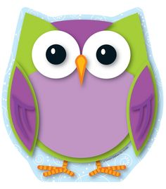 Colorful Owl Notepad | Classroom décor from Carson-Dellosa