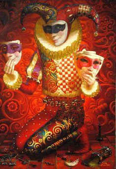 Red Harlequin  -   Victor Nizovtsev