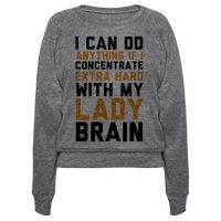 Lady Brain Pullover