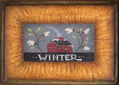"New patter Spring Shoppe"" Winter Sampler Christmas Paintings, Tole Painting, Painting Patterns, Spring 2015, Folk Art, Purpose, Santa, Artists, Wool"