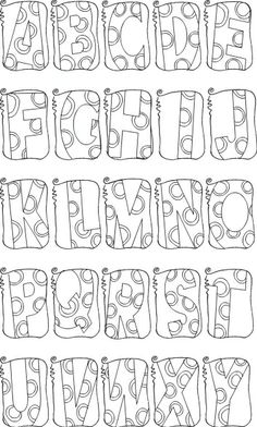 Not Just Any Bee - Doodle Art: My Font Store