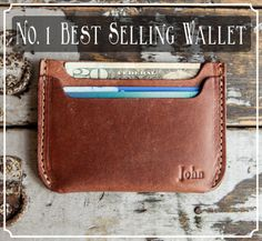 Holtz Leather No. 1 Best Selling Wallet